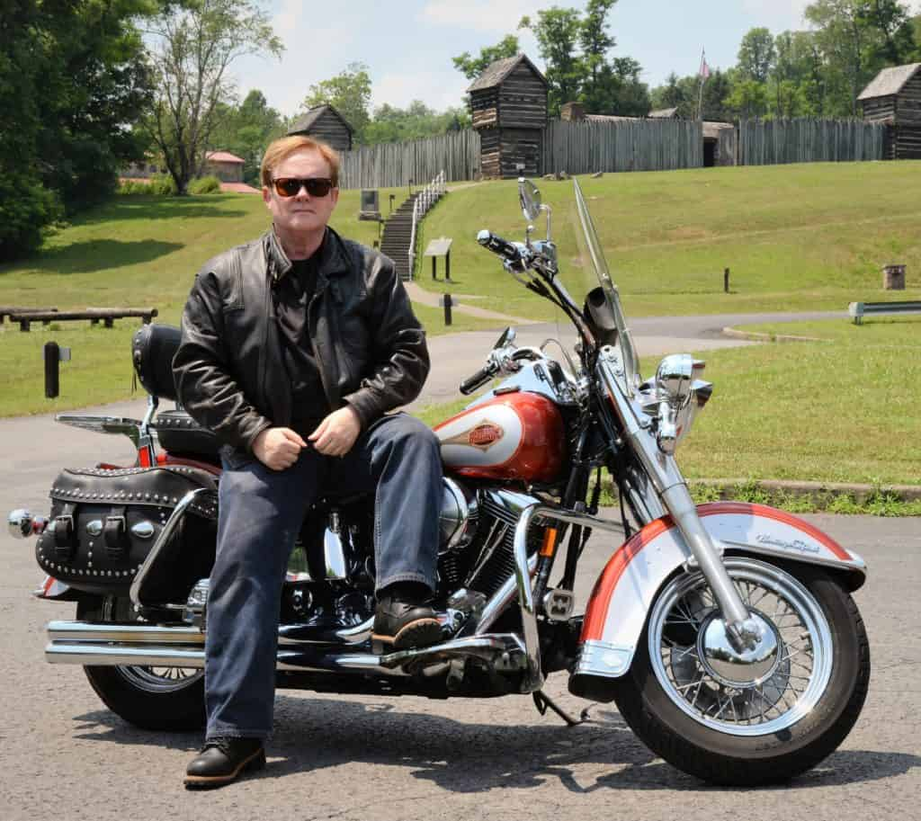 Tom on Motorcyle