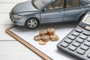Car Amidst Bankruptcy